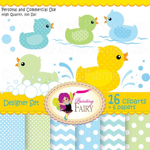 Digital clipart Rubber duck Duckling Baby papers Fun colorful scrapbooking paper pack DIY Personal & Commercial Use pf00045-2  $4.99  Everything Else Graphic Design handmade invitations new babies printable polka dot cliparts happy baby party splashes scrapbook boy bubbles birthday bathing toy clipart photo card supply baby shower image chevron yellow color baby boys supplies gree rubber ducky blue bath clip art