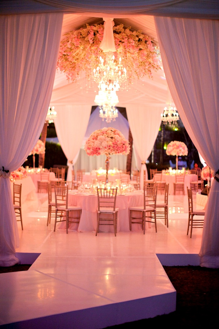 Adore the walkway leading into the marquee. Beautiful #lighting and #draping within this marquee / tent wedding.