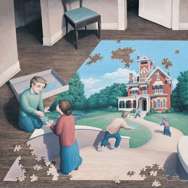 25 Karya Lukisan Ajaib yang Bisa Memutar Persepsimu