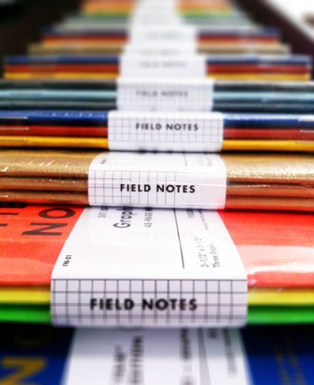 Field Notes notebooks from Coudal Partners