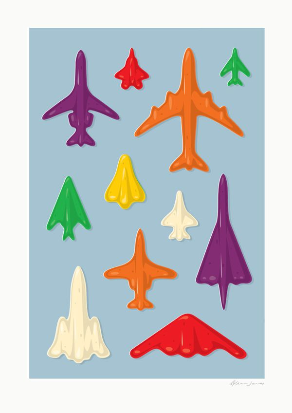 Jet Planes - Expanding the fleet of a well known New Zealand jube lolly