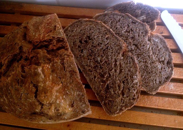 Brood gemaakt met bostel, het achterblijvende moutrestant van het bierbrouwproces, smaakt niet alleen heel erg lekker…