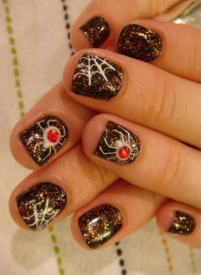 #Nailart tips for #Halloween