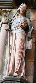 Ruha (Zsinagóga allegóriája, Strasbourg) - Hagyomány és múltidéző