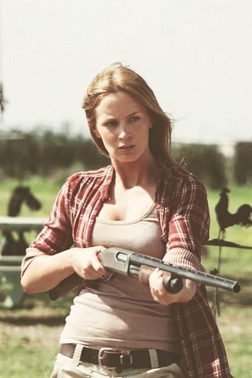 Emily Blunt & a Shotgun...2 of my favorite things!