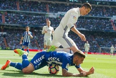 Zinedine Zidane has praised Theo Hernandez to fuel speculation Real Madrid are ready to make a move for the Atletico Madrid-owned defender.  Theo came through the ranks of the Atletico youth academy and has impressed on loan at Alaves this campaign.  The 19-year-old has been linked with clubs such as Bayern Munich Liverpool and Barcelona in recent months but Madrid are believed to be leading the race for the left-back's signature.  Reports from Spain suggest the Santiago Bernabeu side are…