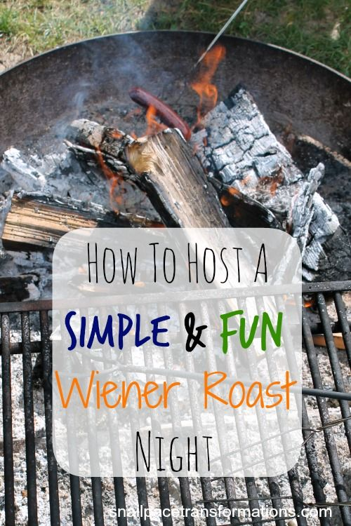 Wiener roasts are such a fun summer time get together. They are simple fun and economical.