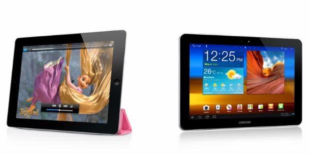 Galaxy Tab Terbukti Tidak Mencontek iPad