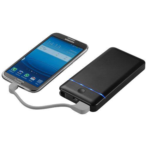 Batería externa PB-10200. Esta batería externa de 10200mAh con doble salida USB (5V/2,1A y 5V/1A) te proporciona más potencia cuando la necesitas. Con indicadores LED para mostrarte el nivel de potencia. Cables de entrada USB y salida micro USB integrados. Compatible con la mayoría de smartphones, tabletas y otros dispositivos con alimentación por USB. Puede cargarse a través del puerto USB de un portátil u ordenador de sobremesa. Incluye batería recargable y estuche de regalo de…