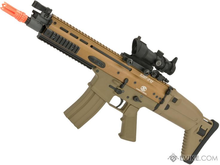 FN Herstal Licensed SCAR-L Airsoft AEG Rifle by Softair/Cybergun - TanLoading that magazine is a pain! Get your Magazine speedloader today! http://www.amazon.com/shops/raeind