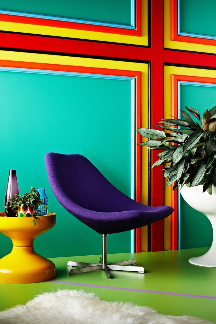 60s Inspired Interior Design