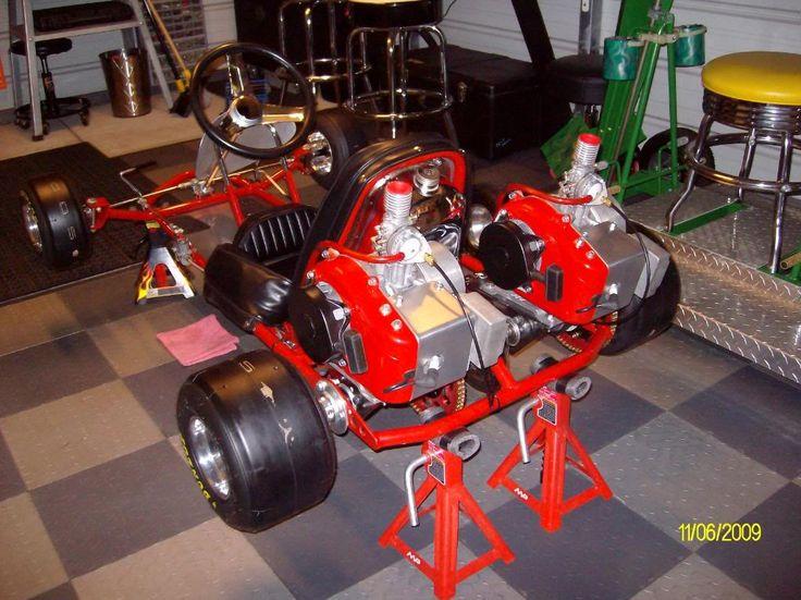 Vintage Kart Engine 110