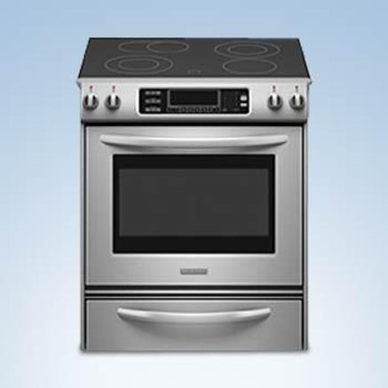 KitchenAid® Self Cleaning Convection Electric Slide In Range. Practical  Considerations Made Me Choose An Electric Over A Gas. I Love The Sleek  Design.