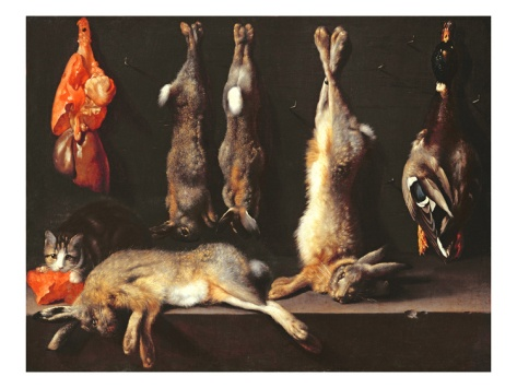 Still Life, Game (Oil on Canvas) Giclee Print by Jan Weenix at Art.com