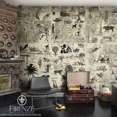#Firenze,#hogar, #tapiz, #sofa, #decoracion, #muebles,  #home, #decoration, #furniture, #avantgarde, #livingroom, #couch, #tapestry, #world, #suitcase #animals