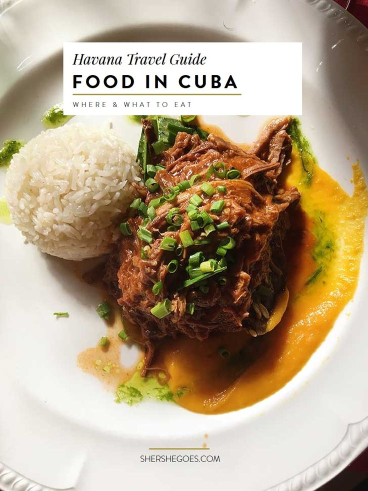 Curious about Cuban Food? Click through to learn about the difference between restaurants and paladars, typical cuban foods and more.