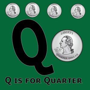 preschool- q is for quarter- president's day