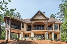 Craftsman Style House Plan - 4 Beds 4 Baths 2896 Sq/Ft Plan #929-970 - Dreamhomesource.com