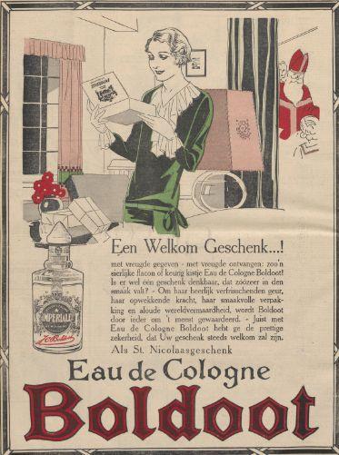BOLDOOT Sinterklaas advertentie 1929