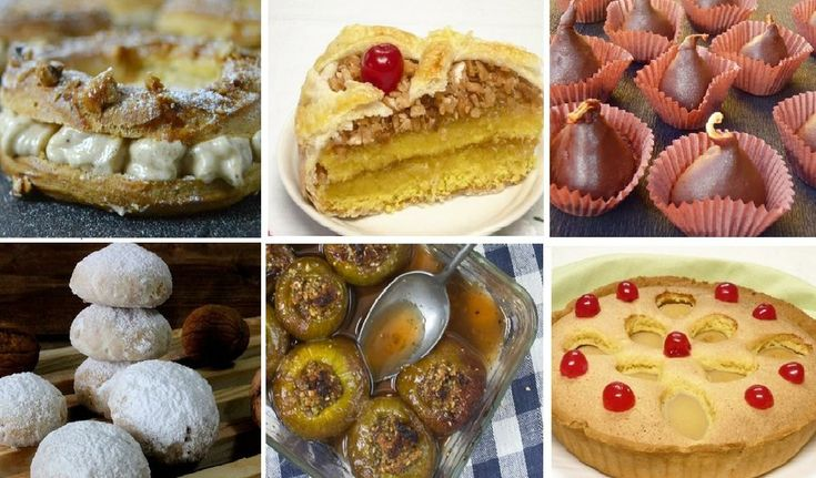 6 recetas dulces con frutos secos