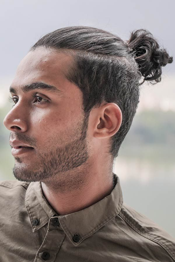 The Top Knot Guide What Is It And How Can You Wear It In 2020 Man Bun Hairstyles Man Ponytail Man Bun Top Knot