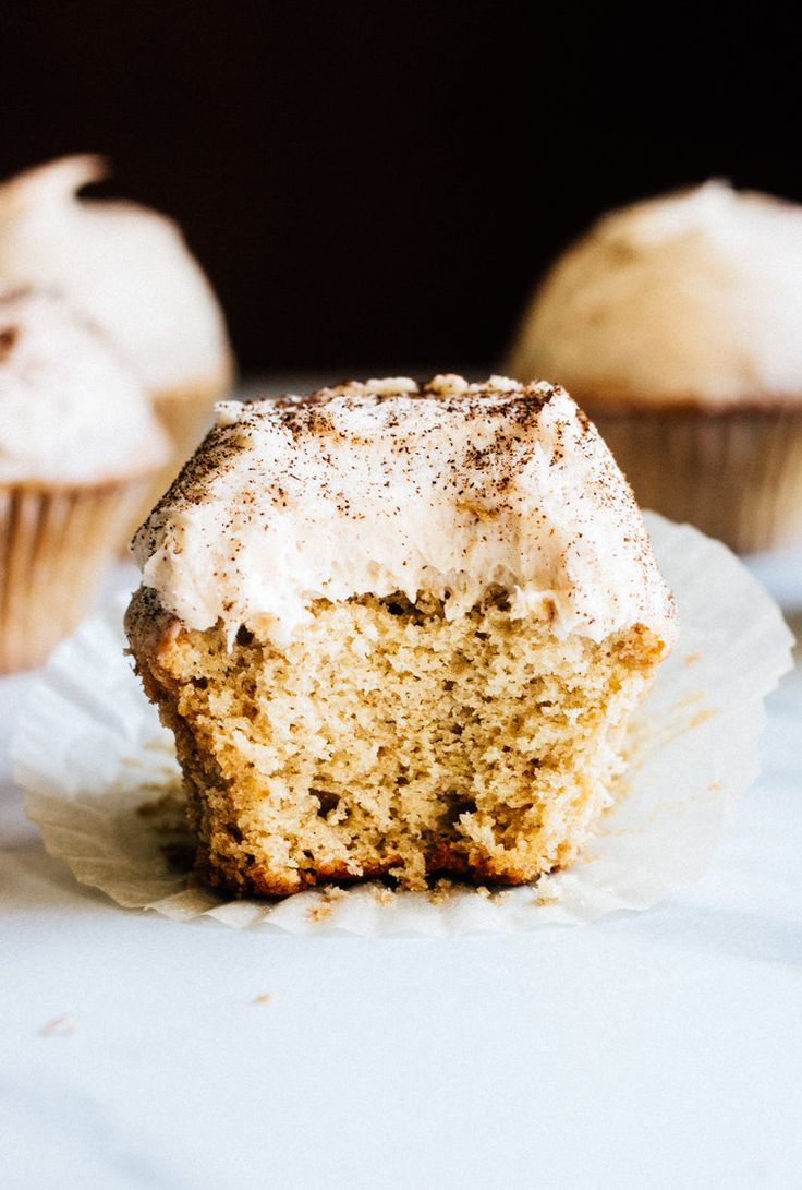 Spice Cupcakes with Chai Frosting — The Whole Bite