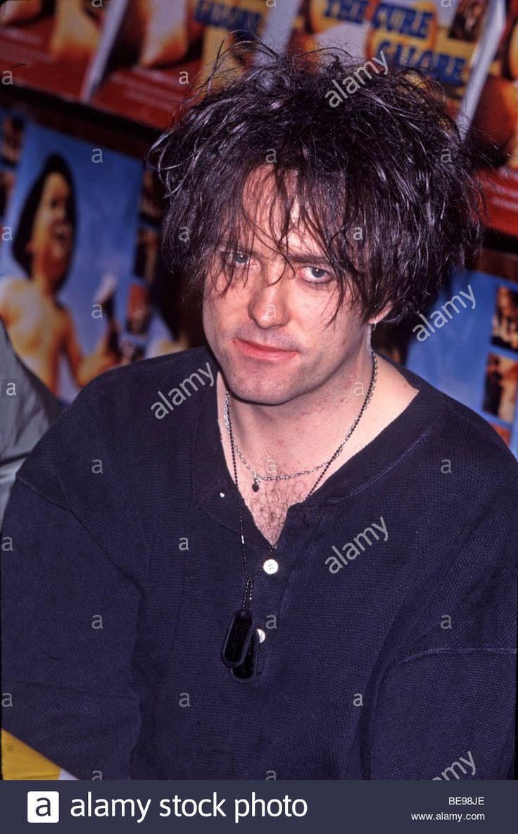 Perry bamonte stock photos and pictures getty images - Cure Uk Rock Group With Robert Smith About 2001 Stock Photo