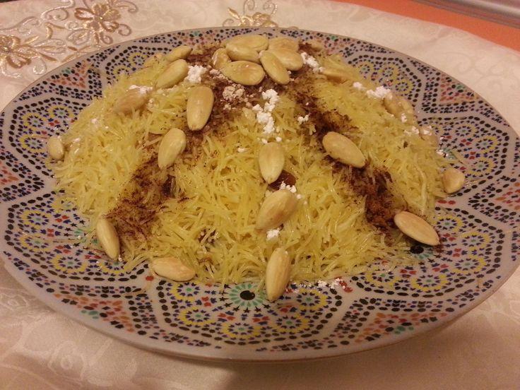 "Cabello de ángel con pollo, ""Seffa de Pollo""https://es.pinterest.com/Marycris60/cocina-arabe/"