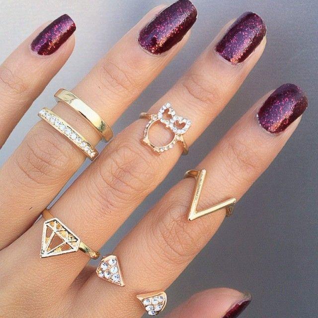 Knuckle rings oftewel midi ringen, ze worden een trend! Super leuk om zelf ook te maken met aluminium wire.
