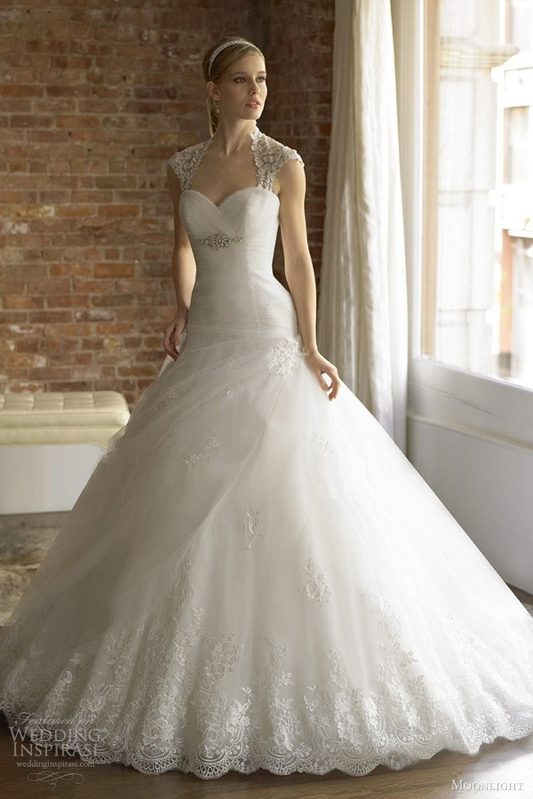 Moonlight Couture Wedding Dress Fall 2012 Collection