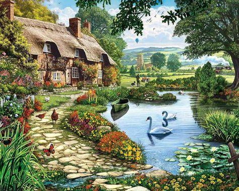 levkonoe: Steve Crisp Lakeside Cottage