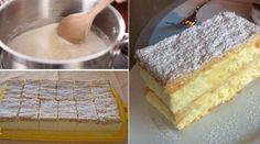 Az általam készített legkönnyedebb és legízesebb krémes, egy tehetséges szakácstól kaptam a receptet!