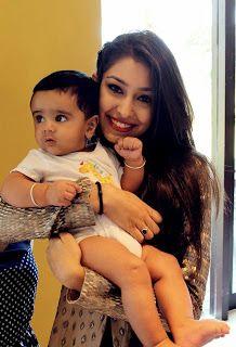 Unseen Childhood and Real Life pics of Navneet Kaur Dhillon