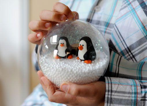 Créer une boule à neige | Idée Créative