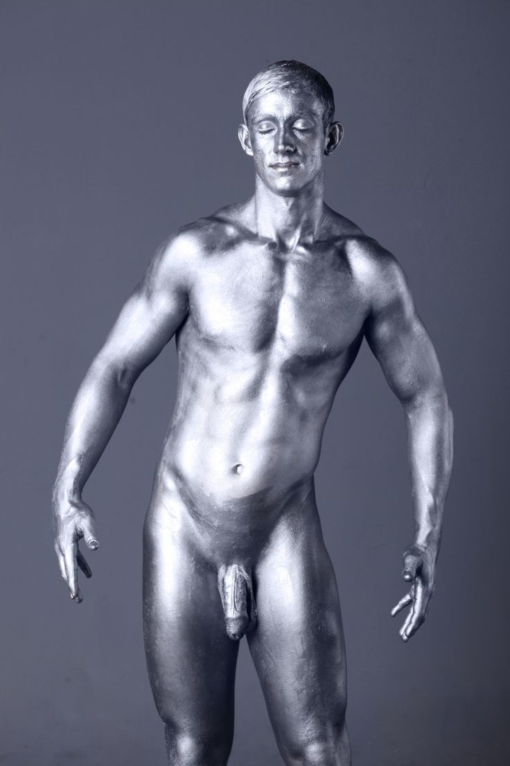 from Leland hot male body painting