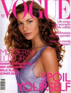 Gisele Bundchen by Raymond Meier Vogue UK August 1998