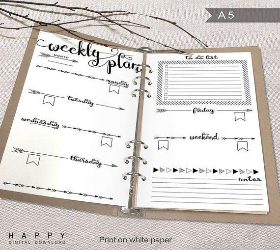 20+ beste ideeën over Agenda à imprimer op Pinterest - weekly agenda