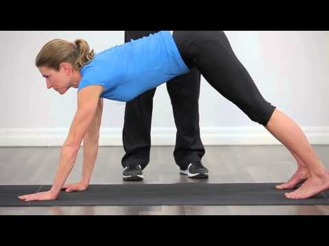 Reduce running injuries with the inch worm exercise - YouTube