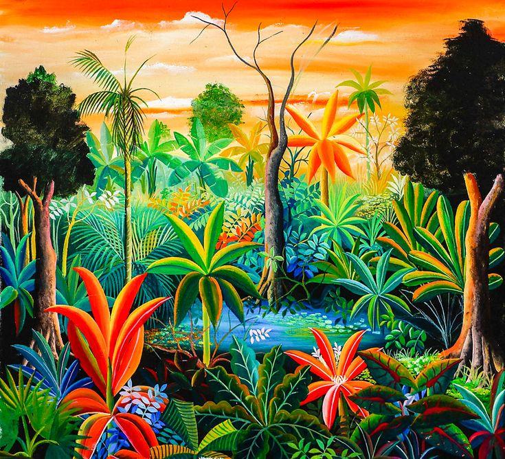 158 mejores im genes sobre pinturas brasile as y africanas - Telas africanas barcelona ...