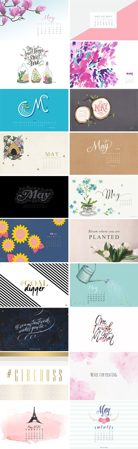May 2015 – Wallpaper Round-Up