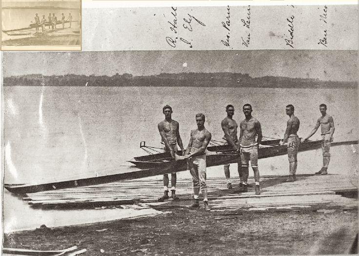 Princeton rowing crew, 1875