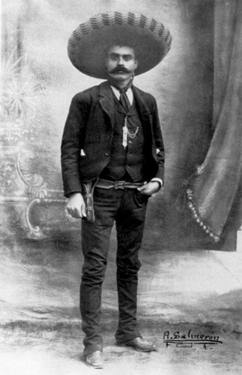 Emiliano Zapata  (1879-1919) ~ a leading figure in the Mexican Revolution