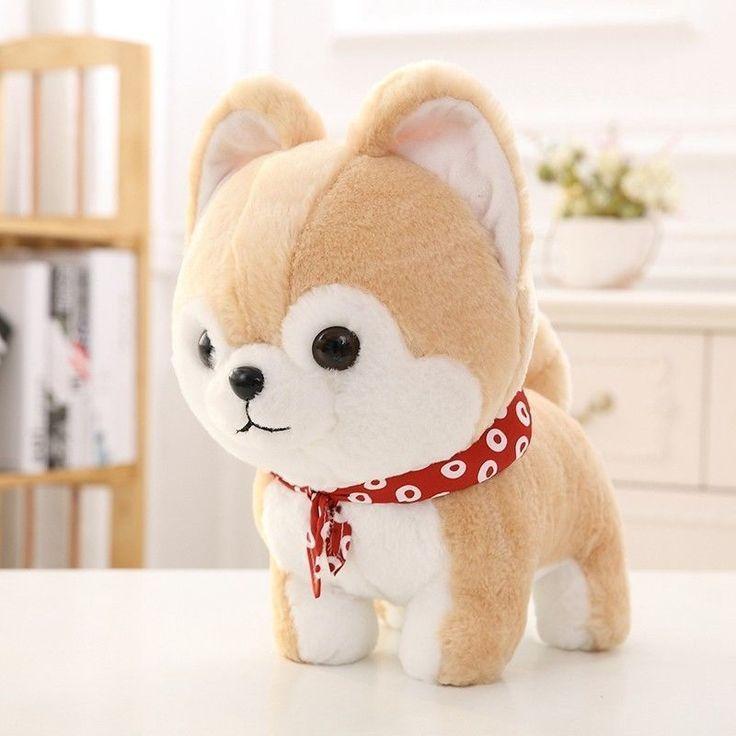 Cute Doge Shiba Inu Dog Japanese Doll Toy Plush Cosplay Xmas
