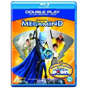Megamind blu-ray - WOW! Luv it!