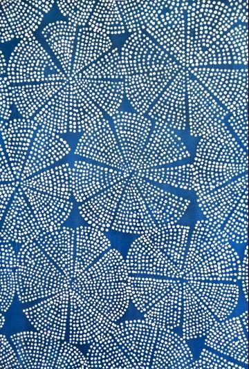 :: Luli Sanchez - blue dot sea flouer ::