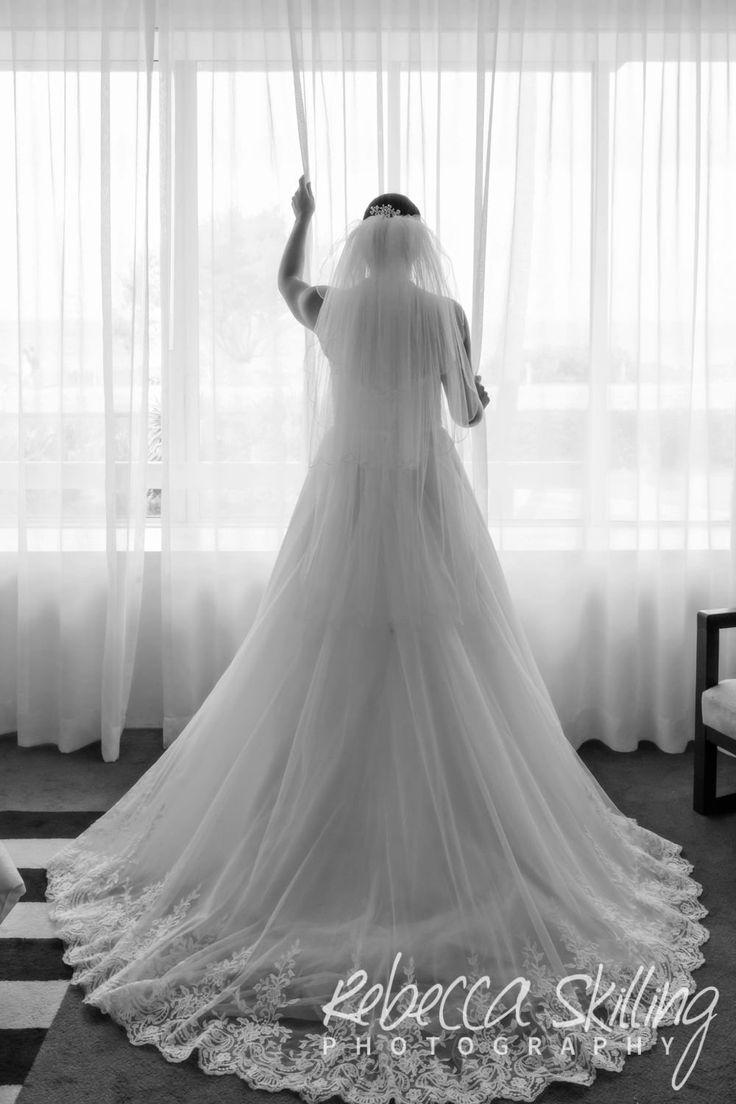 Gorgeous bride Allison at Sheraton Grand Mirage Resort. #Sheraton #BridalBeauty #SheratonGrandMirage #GoldCoastWeddingPhotography