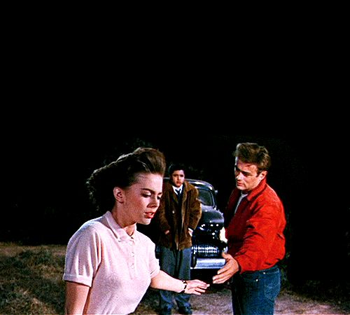 Natalie Wood and James Dean, 'Rebel Without a Cause', 1955.