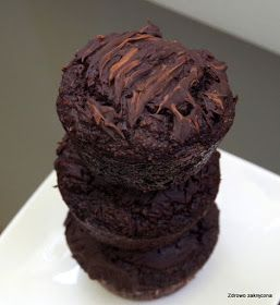 Zdrowo zakręcona: Bezzbożowe puszyste muffiny orzechowo-kawowe