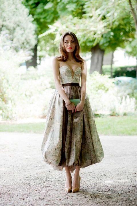 Vestidos de Dama de Honor con Estampado Floral 16