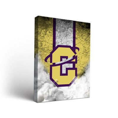 """Victory Tailgate NCAA Vintage Version Framed Graphic Art on Wrapped Canvas NCAA Team: Carroll College Saints, Size: 24"""" H x 18"""" W x 1.5"""" D"""